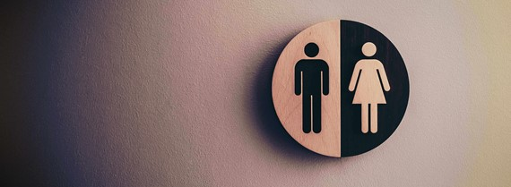 image of Male Female toilet sign