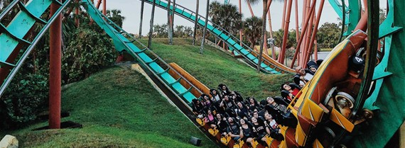 Image of rollercoaster
